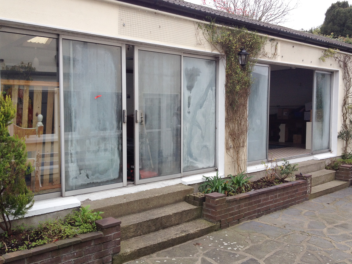 Glass replacement in aluminium patio doors defog windows for Patio window replacement